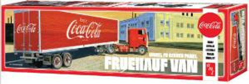 AMT Model Kits 1109 1/25 Fruehauf Beaded Van Semi Trailer Skill 3