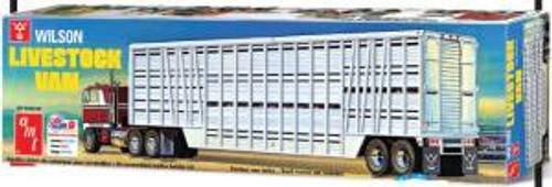 AMT Model Kits 1106 1/25 Wilson Livestock Van Trailer Skill 3