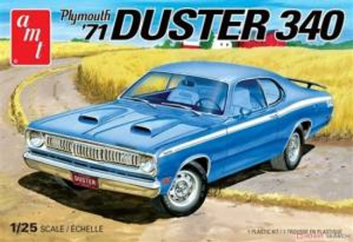 AMT Model Kits 1118 1/25 1971 Plymouth Duster 340 2T Skill 2