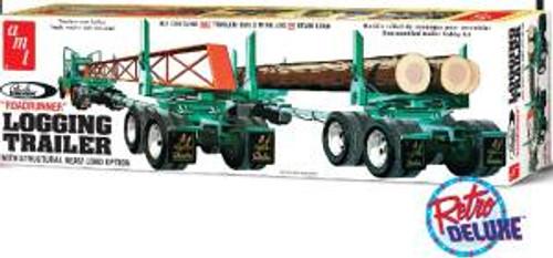 AMT Model Kits 1103 1/25 Peerless Logging Trailer Skill 3