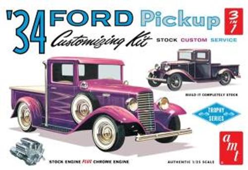AMT Model Kits 1120 1/25 1934 Ford Pickup Skill 2