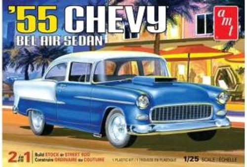 AMT Model Kits 1119 1/25 1955 Chevy Bel Air Sedan 2T Skill 2