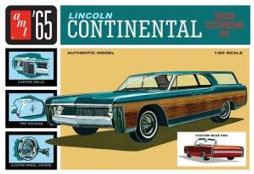 AMT Model Kits 1081 1/25 1965 Lincoln Continental