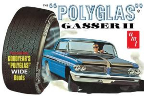 AMT Model Kits 1092 1/25 1962 Pontiac Catalina ''Polyglas Gasser II''