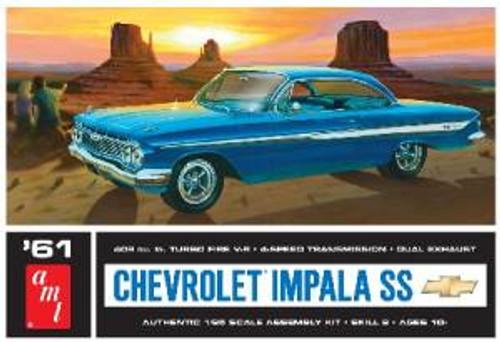 AMT Model Kits 1013 1/25 1961 Chevy Impala SS