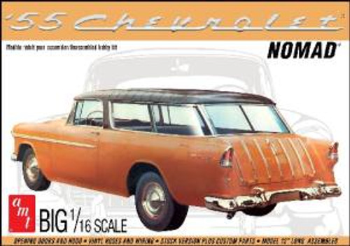 AMT Model Kits 1005 1/25 1955 Chevy Nomad Wagon