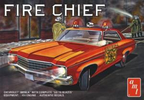 AMT Model Kits 1162 1/25 1970 Chevy Impala Fire Chief Skill 2