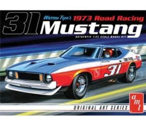 AMT Model Kits 896 1/25 Warren Tope 1973 Mustang - Original Art Series
