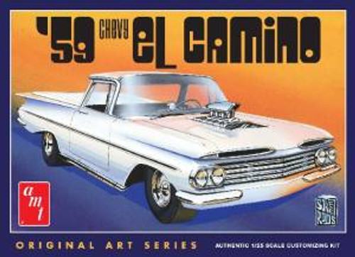 AMT Model Kits 1058 1/25 1959 Chevy El Camino (Original Art Series)