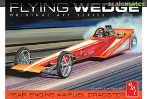 AMT Model Kits 927 1/25 Flying Wedge Dragster - Original Art Series