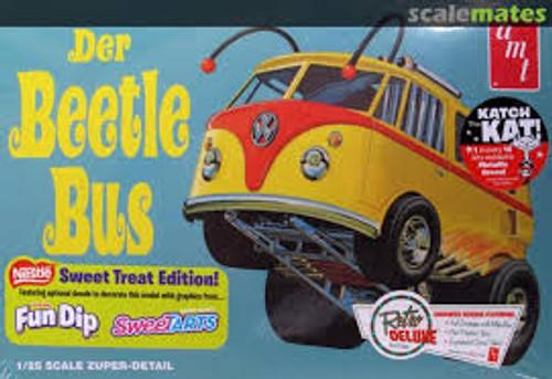 AMT Model Kits 992 1/25 Beetle Bus Volkswagen Van Show Rod Nestle