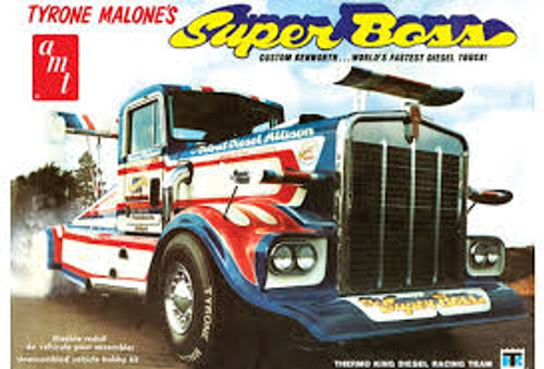 AMT Model Kits 930 1/25 Tyrone Malone Kenworth Super Boss Drag Truck