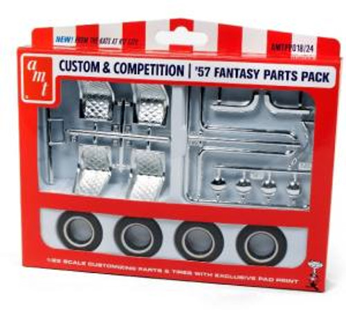 AMT Model Kits 018 1/25 1957 Fantasy Parts Pack