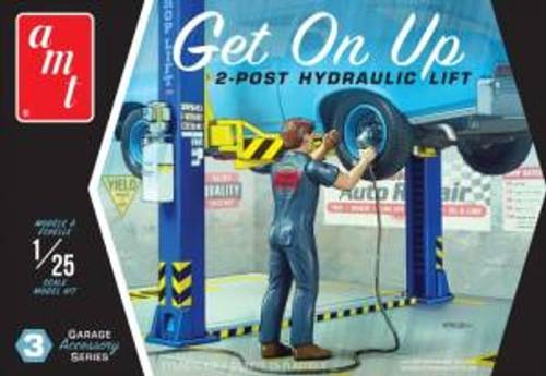 AMT Model Kits 017 1/25 Garage Accessory Set #3 Get On Up 2T Skill 2