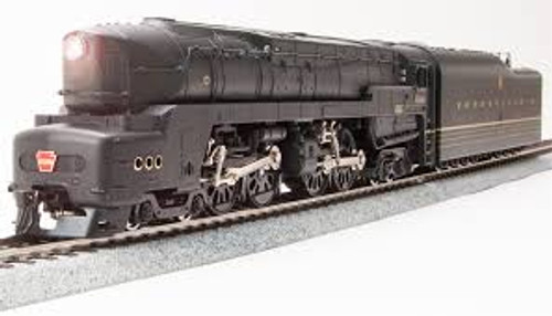 Broadway Limited Imports 5844 HO Scale P3 PRR T1 4-4-4-4 Steam Loco Unlttrd./As-Delivered/DC/DCC