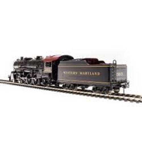 Broadway Limited Imports 5925 HO Scale P3 4-6-2 Lt.Pacific WM #203 DC/DCC Sound