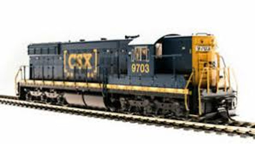 Broadway Limited Imports 5783 HO Scale P3 SD7 Diesel CSX #9703 DC/DCC Sound