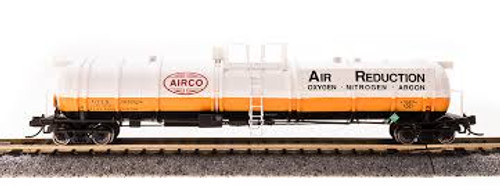 Broadway Limited Imports 3720 N Scale Cryogenic Tank Car AirCo 2 pack