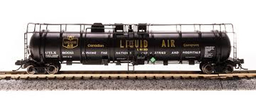Broadway Limited Imports 3723 N Scale Cryogenic Tank Car Canadian Liquid Air 2 pack