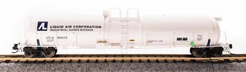 Broadway Limited Imports 3732 N Scale Cryogenic Tank Car Liquid Air Corporation