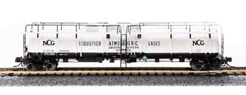 Broadway Limited Imports 3733 N Scale Cryogenic Tank Car NCG