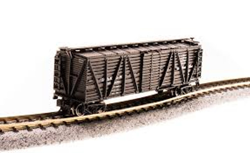 Broadway Limited Imports 3574 N Scale K7 Stock Car w/Sheep Sounds D&RGW