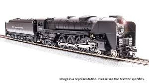 Broadway Limited Imports 5831 HO Scale P3 NYC Niagara S1b 4-8-4 Steam Loco #6004/DC/DCC Sound