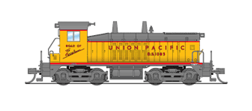 Broadway Limited Imports 3870 N Scale P3 NW2 Diesel UP #1085 DC/DCC