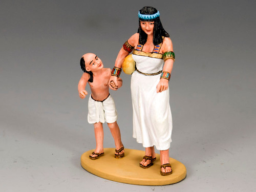 King & Country AE042 Mother & Son Ancient Egypt