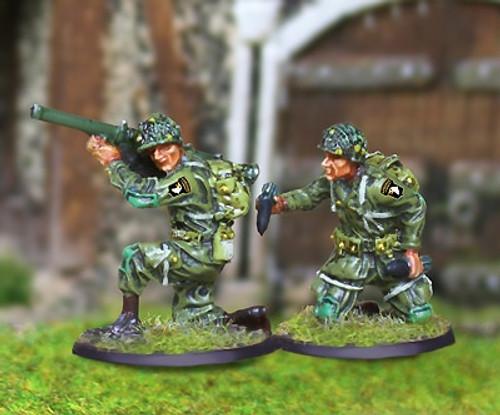 Collectors Battlefield CBA038 101st Airborne Bazooka Team