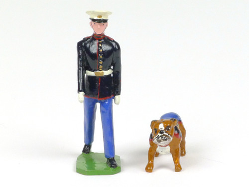 Ducal Models Toy Soldiers Set RM4 Regimental Mascots The United States Marine Corps