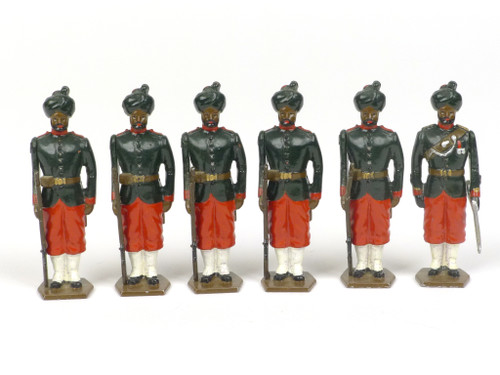 Tradition of London No. 32 29th Bombay Infantry (2nd Baluchis) 1890