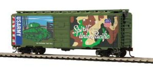 MTH Trains 85-74163 HO 40' PS-1 Boxcar Union Pacific US Army