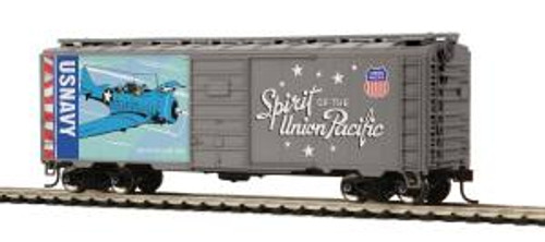 MTH Trains 85-74160 HO 40' PS-1 Boxcar Union Pacific Navy