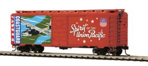 MTH Trains 85-74159 HO Scale 40' PS-1 Boxcar Union Pacific Coast Guard
