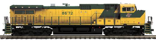 MTH Trains 20-21149-1 Chicago North Western Dash-9 Diesel Engine Proto-Sound 3.0 O Scale
