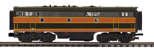 MTH Trains 20-21235-3 Great Northern F7 B Unit Non-powered Diesel Engine O Scale