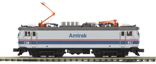 MTH Trains 20-5710-1 Amtrak Phase IV AEM-7 Electric Locomotive ProtoSound 3.0 O Scale