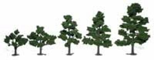 Woodland Scenics TR1112 Realistic Tree Kits 6 Deciduous Trees/Foliage