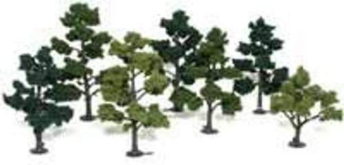 "Woodland Scenics TR1103 Tree Kit 7 Deciduous Trees 5"" - 7"""