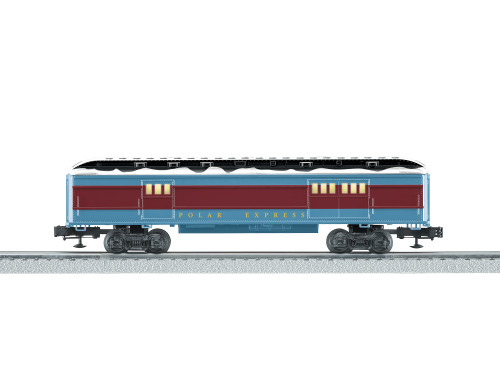 Lionel Trains 6-84605 The Polar Express Baggage Passenger Car O Gauge