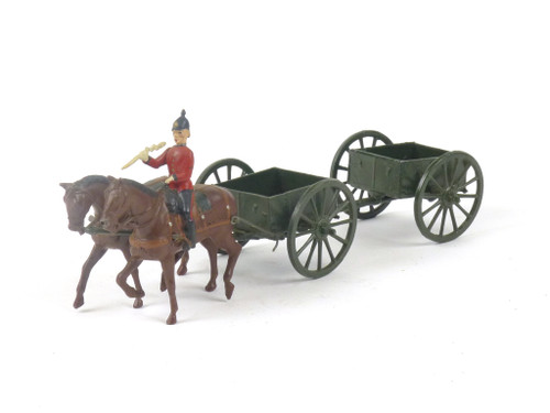 WBritain Britains Limited 1330 Royal Engineers General Service Limbered Wagon
