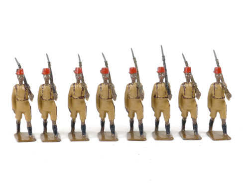 WBritain Toy Soldiers 225 King's African Rifles At The Slope