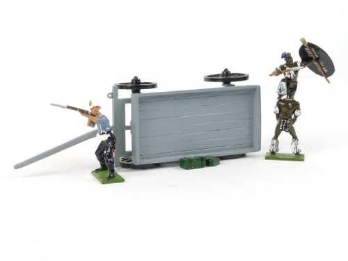 Little Legion Military Models Overturned Colonial Wagon Z/131 Zulu Equipment