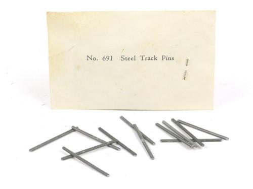 American Flyer #691 Steel Track Pins S Gauge 12 Pack