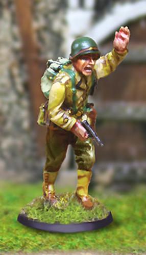 Collectors Battlefield CBA043 327th GIR Capt. John Steel