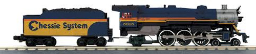 MTH Trains 30-1825-1 Chessie 4-6-2 Imperial Pacific Steam Engine ProtoSound 3
