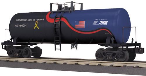 MTH RailKing Trains 30-73517 Norfolk Southern Veterans Modern Tank Car O Gauge