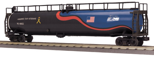 MTH RailKing Trains 30-73518 Norfolk Southern Veterans 33K Gallon Tank Car