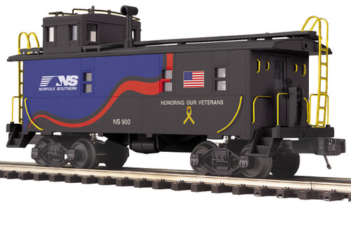 MTH RailKing Trains 30-77349 Norfolk Southern Veterans Offset Caboose O Gauge